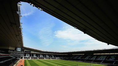 iPro Stadium: Derby have loaned Michael Hoganson to Alfreton