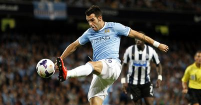 Alvaro Negredo: Big impact at the Etihad Stadium