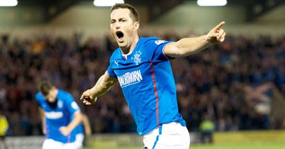 Jon Daly: The Irish striker scored twice as Rangers won 6-0 at Airdrie