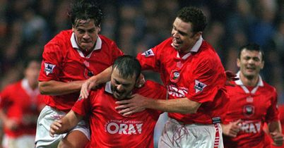Neil Redfearn (centre): In FanZoner Chris Ellison's ultimate Super Reds XI