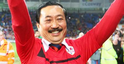 Vincent Tan: Has bankrolled Cardiff's journey to the Premier League