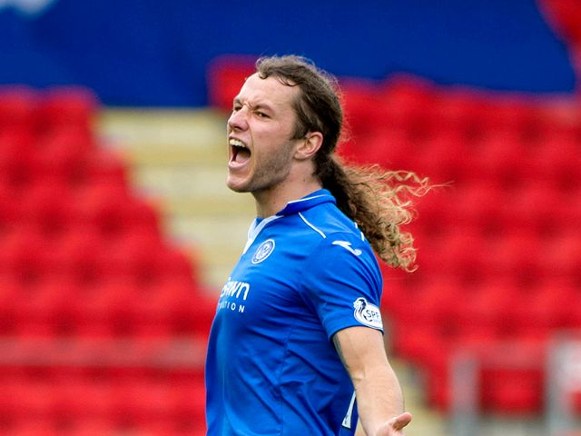 Stevie May: On target this evening