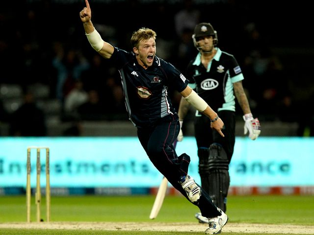 David Willey: Has boosted his England chances