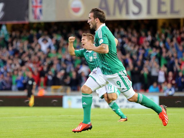 Martin Paterson scored the only goal of the game at Windsor Park