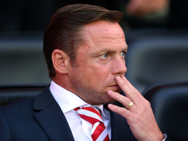 Paul Dickov: Watched his side earn a 0-0 draw