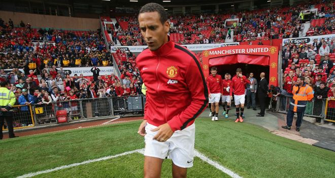 Rio Ferdinand: Saw Manchester United come unstuck on his big night