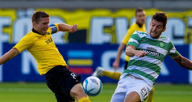 Celtic: Fought hard in Sweden to progress