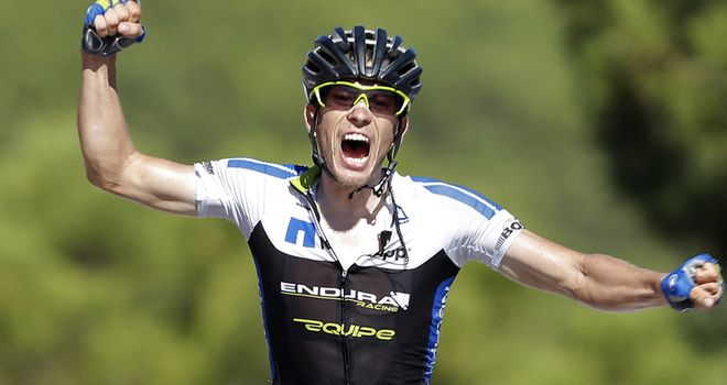 Leopold Konig won a stage and finished ninth overall for NetApp-Endura at last year's Vuelta a Espana