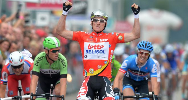 Andre Greipel: Returned to the podium after a frustrating start to the event