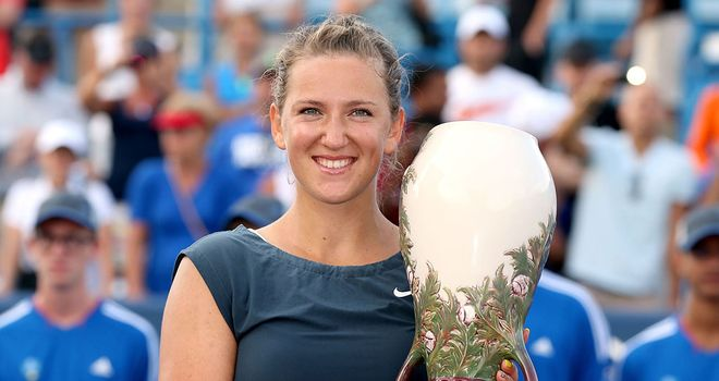 Victoria Azarenka: Victorious in WTA Cincinnati final