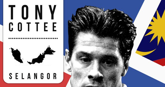 Tony Cottee: Won his first silverware playing in Malaysia