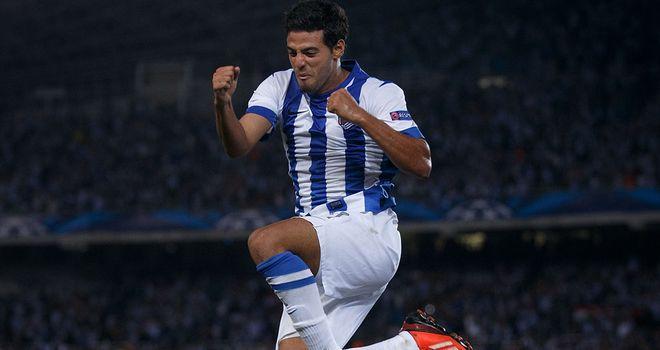 Carlos Vela: Claimed all four of Sociedad's goals