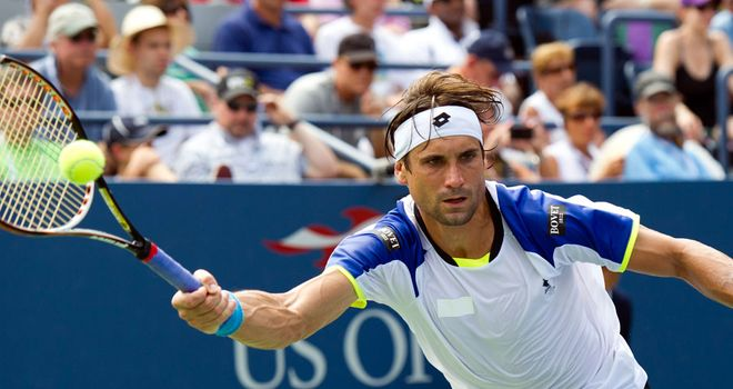David Ferrer: Is a two-time semi-finalist at the US Open