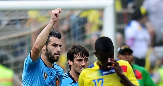 Manchester City's Alvaro Negredo seals Spain win over Finland