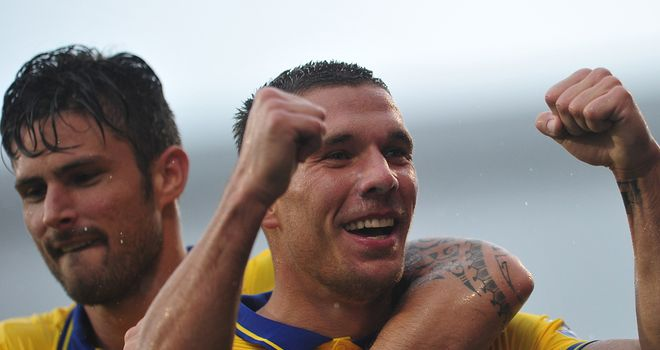 Lukas Podolski: Still wanted at Arsenal