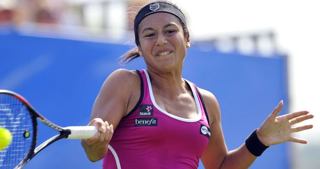 Heather Watson: Made light work of Teliana Pereira in qualifying