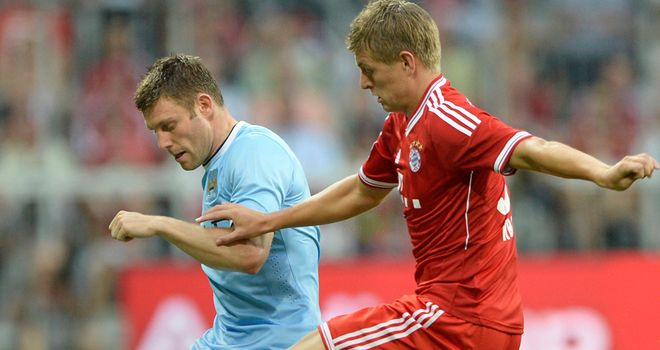 James Milner: Battles with Toni Kroos during City's 2-1 defeat