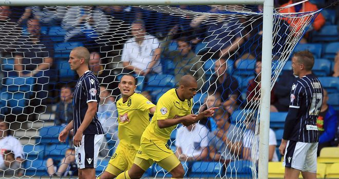 James Vaughan: Huddersfield's matchwinner at The Den