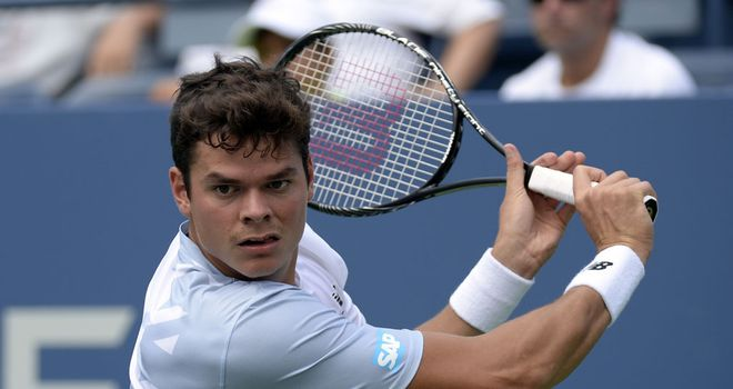 Milos Raonic: Beat top-seeded Tomas Berdych in Bangkok
