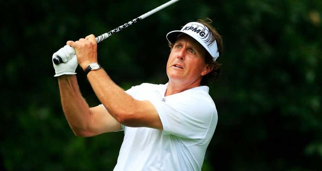 Phil Mickelson: Needs a big weekend