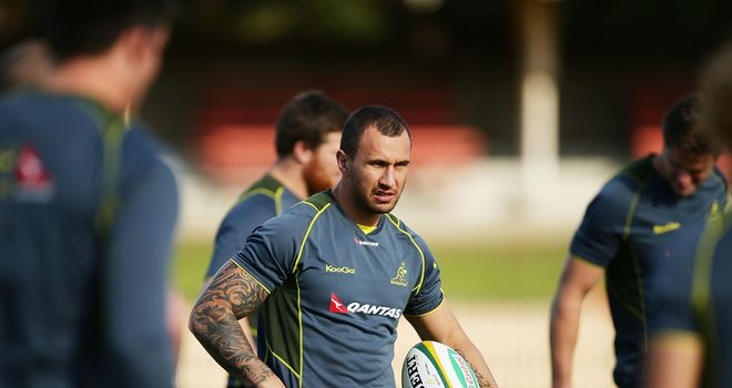 Cooper: impact player for Wallabies
