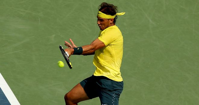 Rafael Nadal: Had no trouble in first match back since Wimbledon defeat
