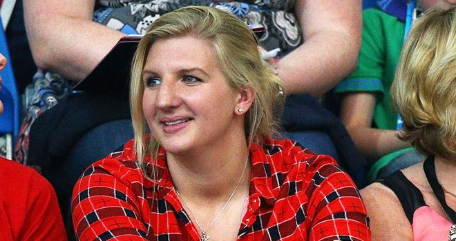 Rebecca Adlington: Won two golds in the 2008 Olympics