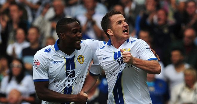 Ross McCormack: At the double for Leeds United