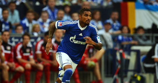 Kevin-Prince Boateng in action.