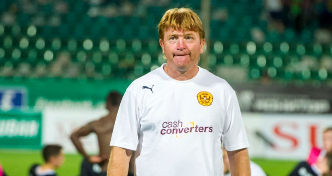 Stuart McCall: Happy to see Bob McHugh and James McFadden on the scoresheet