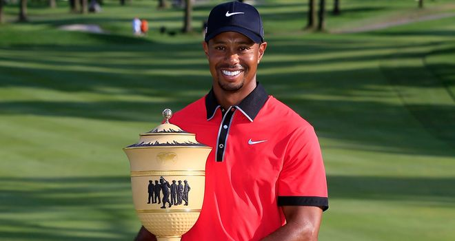 Woods: will he lift another trophy next weekend?