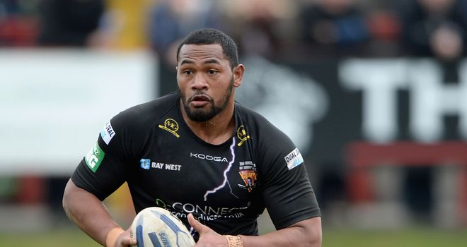Huddersfield giants forward ukuma ta'ai named in tonga world cup squad