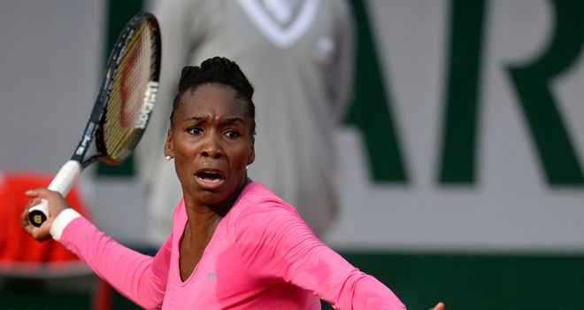 Venus Williams: Took the first set in style but was eventually beaten in three