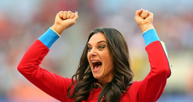 Yelena Isinbayeva: Going for gold in Rio