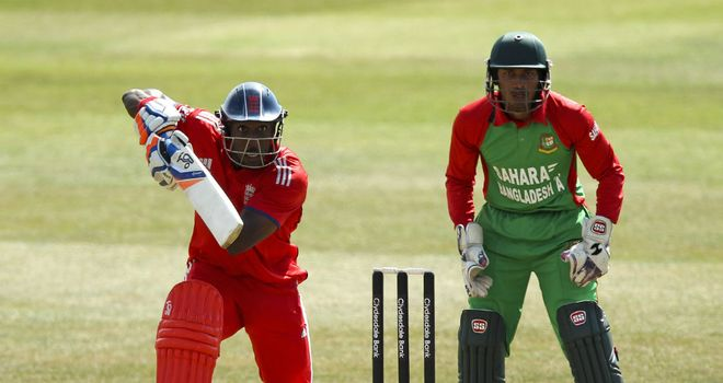 Michael Carberry: Scored 146 in a one-sided England victory