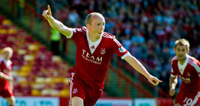 Willo Flood: Match-winner for Aberdeen against Kilmarnock