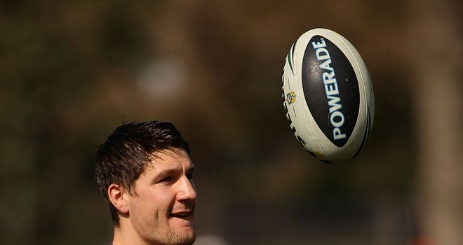Gareth Widdop: Has a chance of being fit for the World Cup later this year