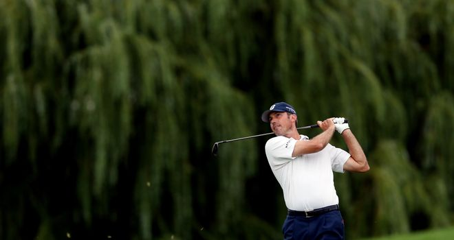 Matt Kuchar: Still has five holes remaining in his second round at The Barclays