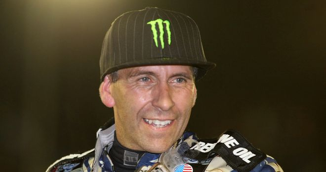 Greg Hancock: Won three heats for the Poole Pirates in Monday's meet against the Swindon Robins