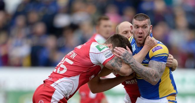 Brett Delaney: Has signed a new five-year contract with Super League champions Leeds Rhinos