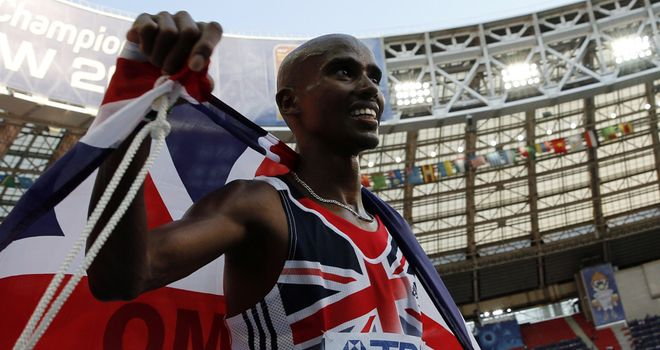 Mo Farah: Jogs through 5,000 metres semi-final