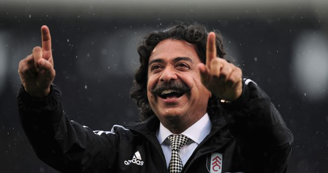 New Fulham chairman Shahid Khan says Jaguars could play at Craven Cottage