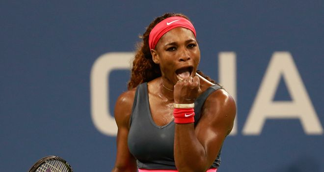 Serena Williams: Has set-up and intriguing fourth-round clash with Sloane Stephens