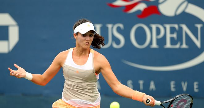 Laura Robson: Taking on Li Na on Arthur Ashe today