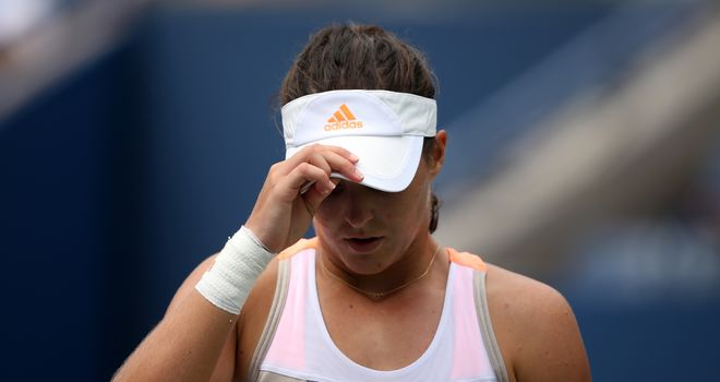 Laura Robson: Made 30 unforced errors
