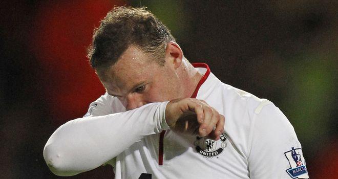 Wayne Rooney: Did not play in Sweden