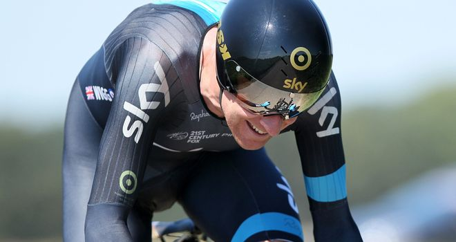 Sir Bradley Wiggins slipped to fifth after being edged out by rivals