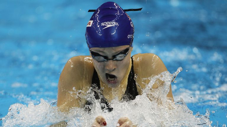 Siobhan O'Connor of Great Britain competes in the Women's Individual Medley semi final during Day Nine of the 14th FINA World Championships at the Oriental Sports Center on July 24, 2011 in Shanghai, China.