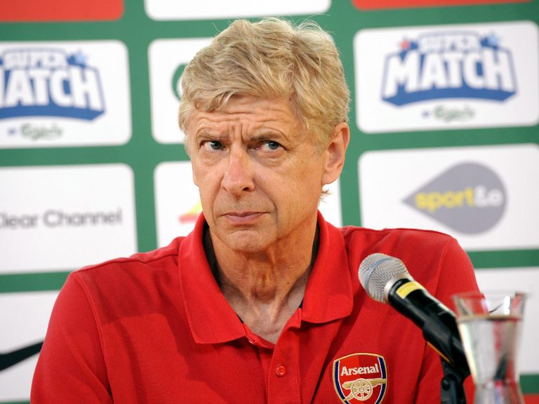 Arsene Wenger: Has gone on the defensive