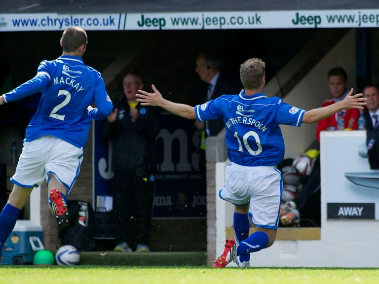 St Johnstone: Fancied to beat Hibs to nil